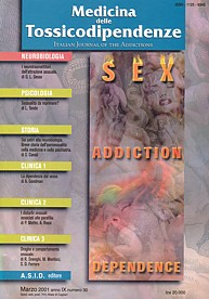 Sex, addiction, dependence